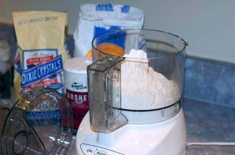Pie crust dry ingredients