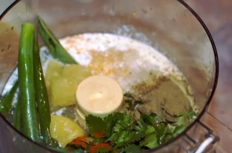 Mahi sauce prep