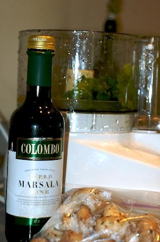 Marsala sauce start