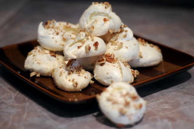 Plate of Meringue Cookies