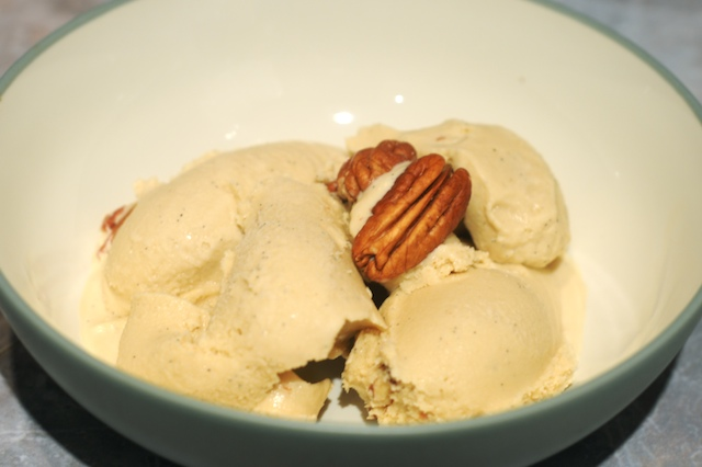Vanilla Bourbon Butter Pecan Ice Cream
