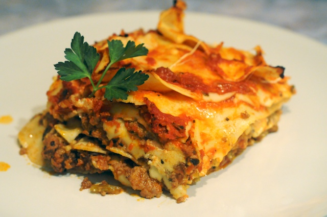 Lasagna Bolognese from Mike's Table