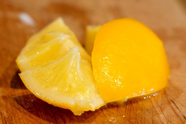 A preserved lemon