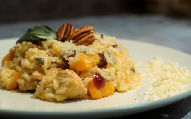 Thanksgiving Risotto