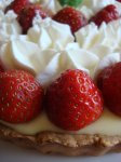 Paula's Strawberry Lemon Curd Tart