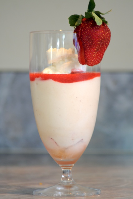 White Chocolate Mousse Using Gelatin Strawberry white chocolate