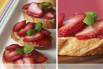 Alexandra's Strawberry Bruschetta