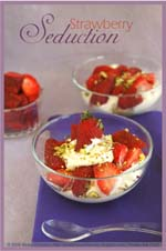 Meeta's Strawberries, Cream and Cake
