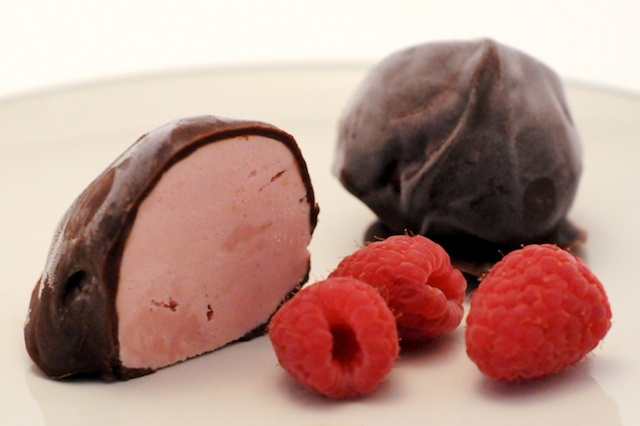 chocolate covered raspberry raspberry truffles 2 raspberry truffles ...
