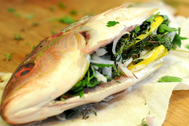 yellowtail snapper recipe