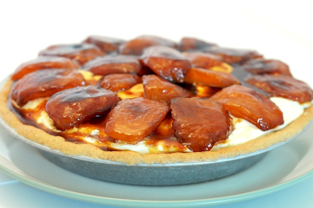 Caramelized Apple and Cinnamon Cream Tart from Mike's Table