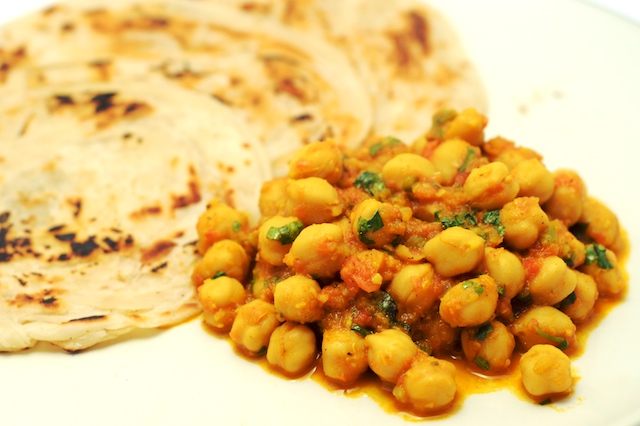 channa masala is essentially a strongly spiced curry the masala