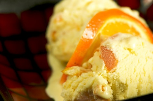 Orange Anise Ice Cream