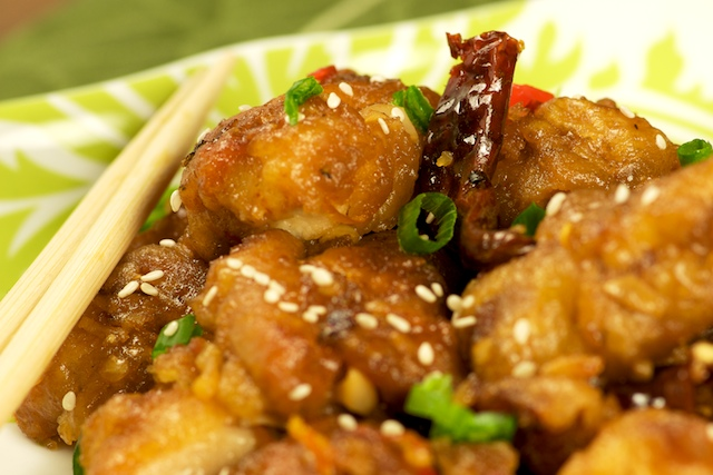 Orange Chicken from Mike's Table
