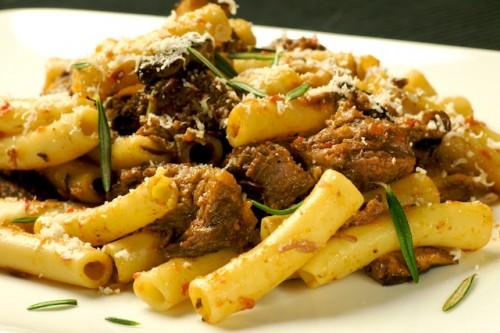 Beef Short Ribs Marsala Pasta