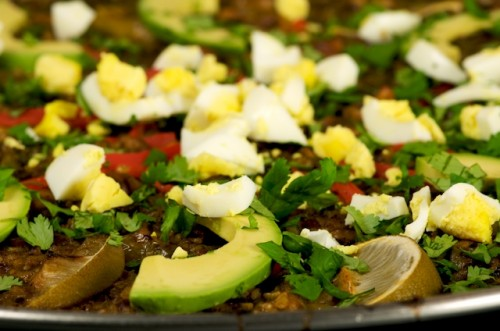 Mexican Inspired Paella Verde