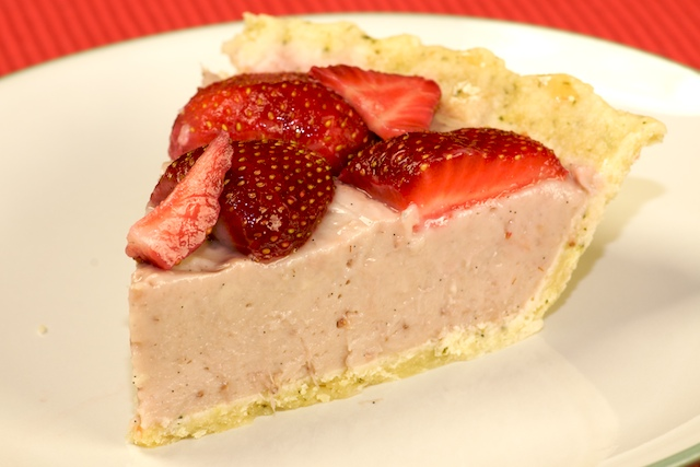 how to make apple pie with strawberries