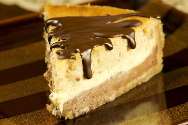 Peanut Butter Cheesecake With Peanut Brittle Recipe — Dishmaps