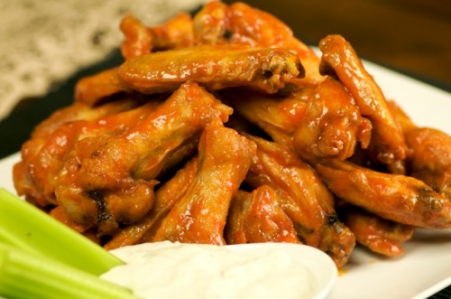 how to tell if chicken wings are done frying